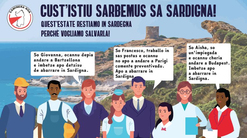 Caminera Noa: Quest'anno salviamo la Sardegna!