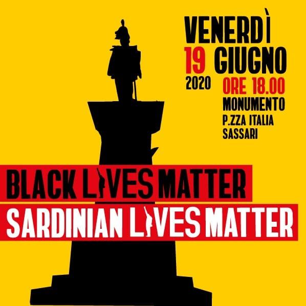 Black and Sardinian lives matter: manifestazione a Sassari